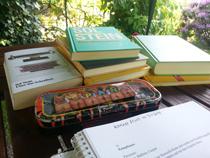 Schreiben im Freien