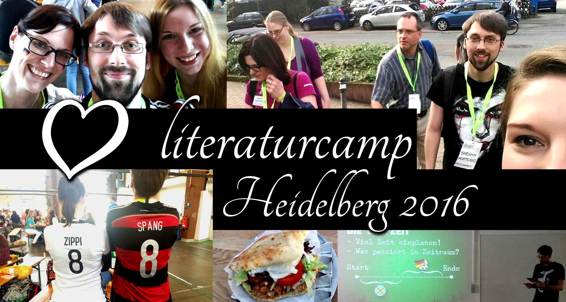 Literaturcamp 2016 in Heidelberg