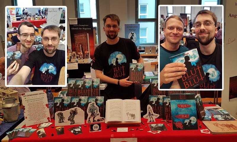 Benjamin Spang auf der saarländischen Buchmesse Hombuch