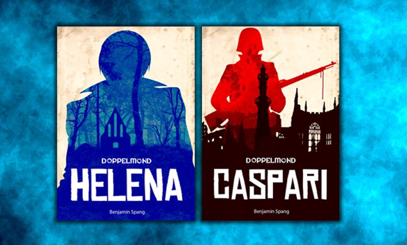 Cover der Ebooks Caspari und Helena