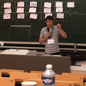 Session über das Startup von Tobias Marten auf dem Saarcamp 2017